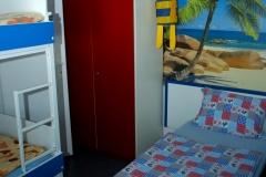 Pokoje s patrovou postelí